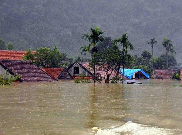 Nằm mơ thấy lũ lụt