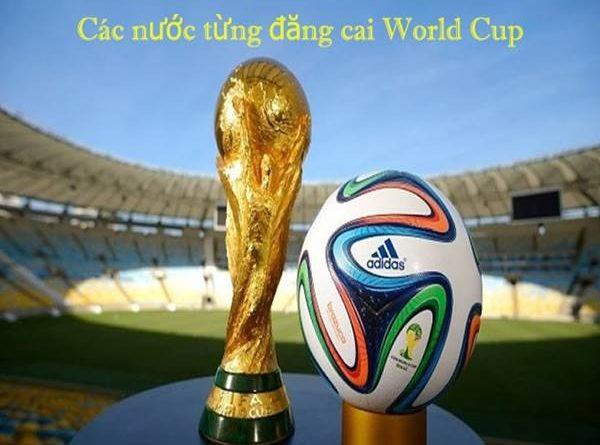 Danh sách các nước đăng cai World Cup từ trước đến nay